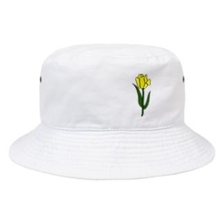 きいろチューリップ Bucket Hat