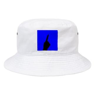 ワンハンド・ブルー Bucket Hat