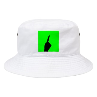 QB🦖のワンハンド・グリーン Bucket Hat