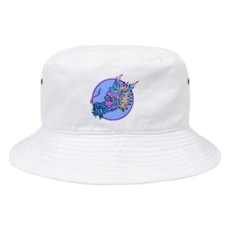 富嶽キャッスルのにこやかな龍丸の内♪ Bucket Hat