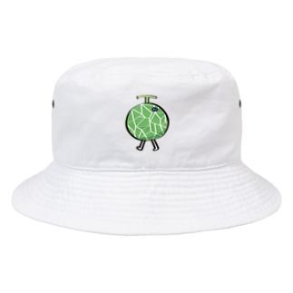 ウォーキングめろん Bucket Hat