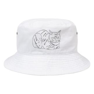 ネコ Bucket Hat