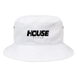 HOUSE STYLE Bucket Hat