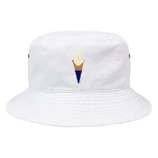 ソフトクリーム Bucket Hat