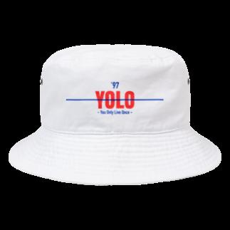 Koco'sのYOLO Bucket Hat