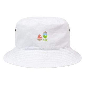 SHUロゴ(オリジナル) Bucket Hat
