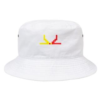 ドット水引(結び切り) Bucket Hat