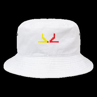 コトブキヒサシ/寿寿のドット水引(結び切り) Bucket Hat