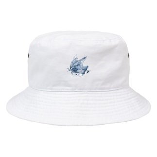 blue_rabbit Bucket Hat