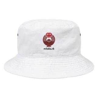 mitaka.rb ワンポイント Bucket Hat