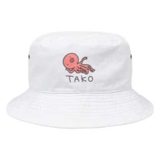 TAKO(色付き) Bucket Hat