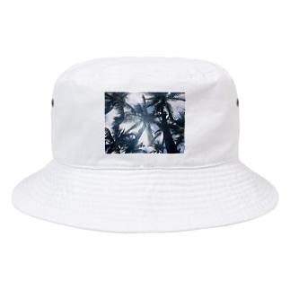 ヤシの木 Bucket Hat