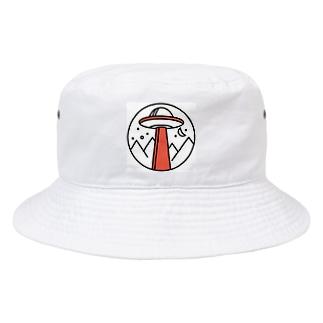 UFO(オレンジ) Bucket Hat