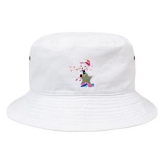 ©️FuzukiTakemura  Bucket Hat