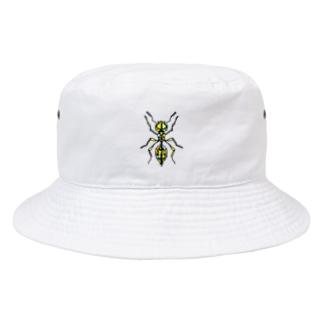 ant☆(あり)カラーバージョン Full of vitality (フル オブ バイタリティ) Bucket Hat