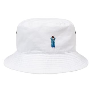 ばすけっとガールくん Bucket Hat