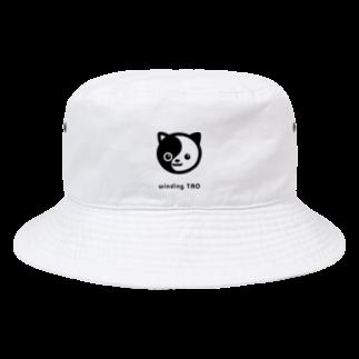 くねくね道のタオ猫みっちー Bucket Hat