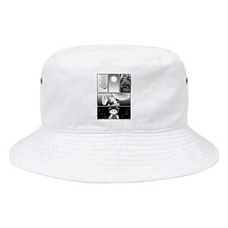 母を戀ふる記_月の涙バージョン 私の潤一郎、実はこんなに可愛いのよ Bucket Hat