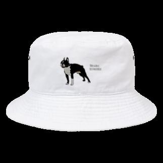 Park a Holic BostonterrierのPark a Holic Bostonterrier Bucket Hat