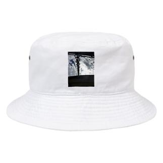 SunLight_Chain_Water_SKY Bucket Hat