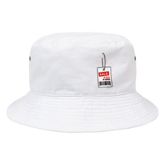 値札取り忘れ ver.2 Bucket Hat
