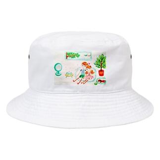 ハッピー♡タイム(B)🧡ⅭoⅭo&TaTa Bucket Hat
