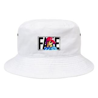 凶のハンドサイン 80's Bucket Hat