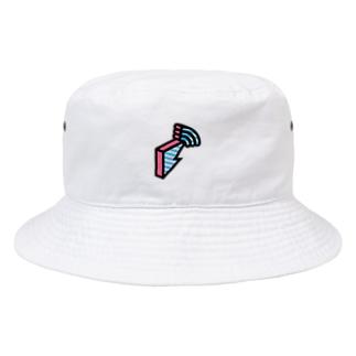 block.fm オフィシャルロゴグッズ Bucket Hat