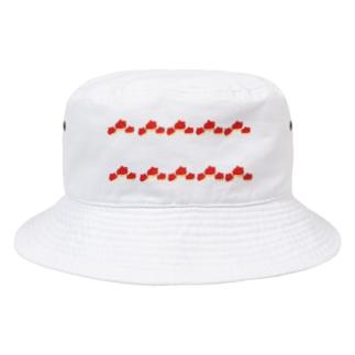 ホヤ枠 Bucket Hat