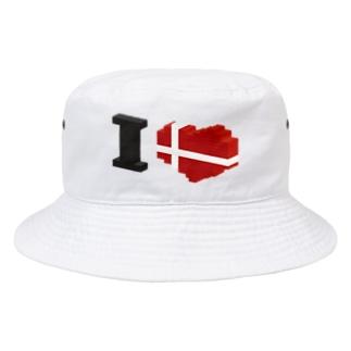アイラブ デンマーク 2019年真冬モデル Bucket Hat