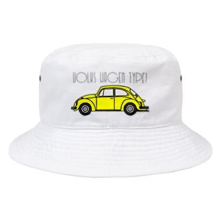 VOLKSWAGEN TYPE1 Bucket Hat