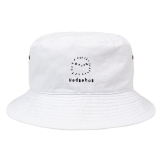 おもち屋さんの無色のハリネズミ Bucket Hat