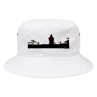 仙台大観音 Bucket Hat