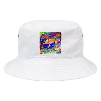 Fantastic Frog -Utopia Version- Bucket Hat