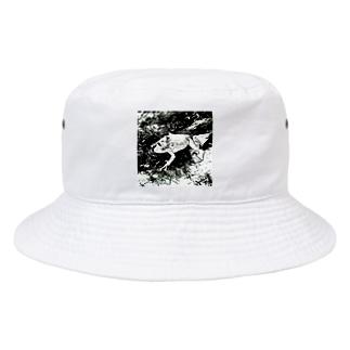 Fantastic FrogのFantastic Frog -Black And White Version- Bucket Hat