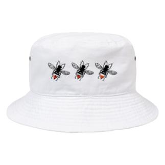DEAR MY DEAR PATIENTSロゴ Bucket Hat