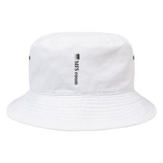 MFS room trim2(黒) Bucket Hat