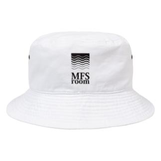 MFS room trim5(黒) Bucket Hat