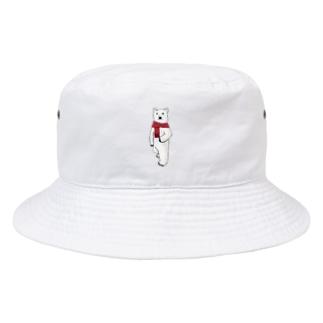Mr. ポーラーベアー Bucket Hat