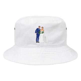 そうちゃんとこのマリッジ Bucket Hat