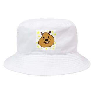 ゆるゆるクアッカワラビーちゃん Bucket Hat
