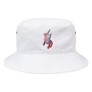 赤兎馬に乗る麻呂 Bucket Hat