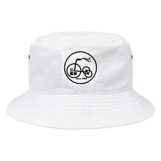 三輪車ロゴ Bucket Hat