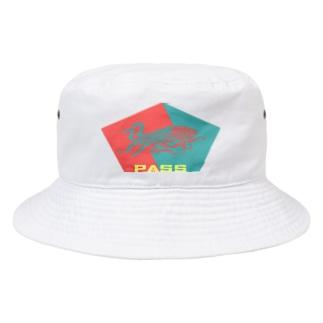 五角(合格)オクトパス(pass) Bucket Hat