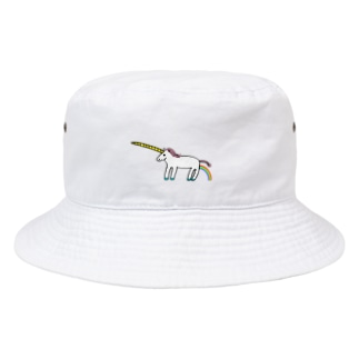 花くまゆうさくのユニコーン Bucket Hat