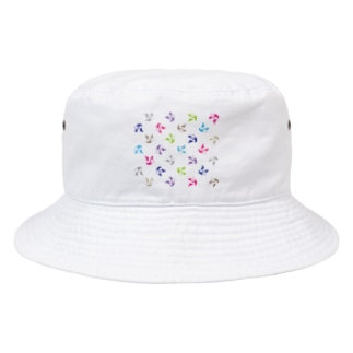 PANDA LAUREN Bucket Hat