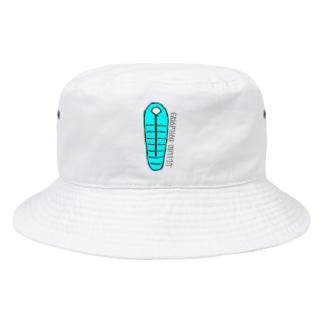 キャンピング寝袋 Bucket Hat