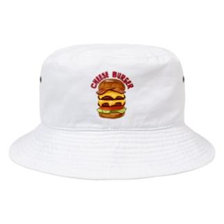 チーズバーガー Bucket Hat