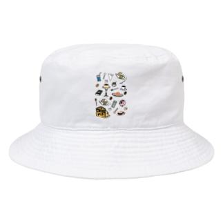 気ままに創作 よろず堂の純喫茶 いろどり Bucket Hat