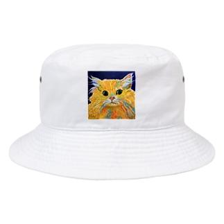 Orange Calcite Cat(オレンジ カルサイト キャット) Bucket Hat